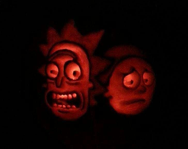 Rick & Morty! Love.