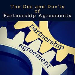 Partnership Agreement Tips For Entrepreneurs And Startups