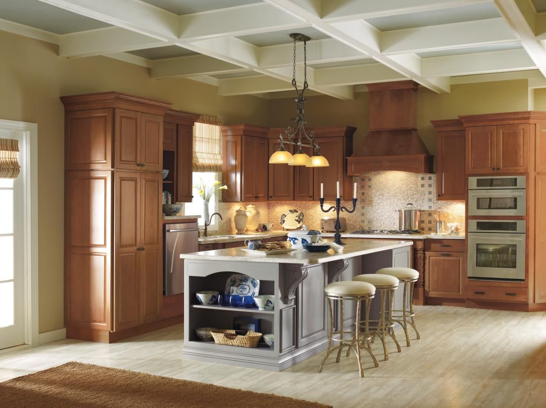 mix and match your cabinet finishes for a bold look these kemper