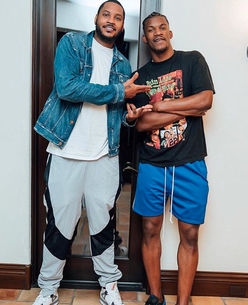 Jimmy Butler Wearing Our Roaming Gym Short Drop Crotch Shorts Drop Crotch Sweat Shorts