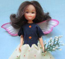 Fab vintage rare 1980s lovely hornby * fleur fée * flower fairies doll + tenue