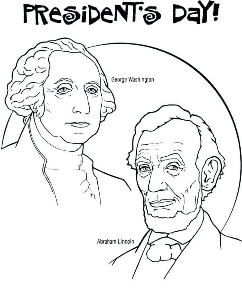 Read More Birthday Coloring Pages Presidents Day Coloring