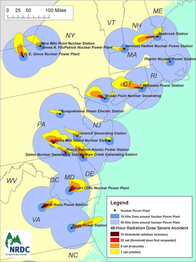 Using the weather patterns of March 1112 2011 when the Fukushima