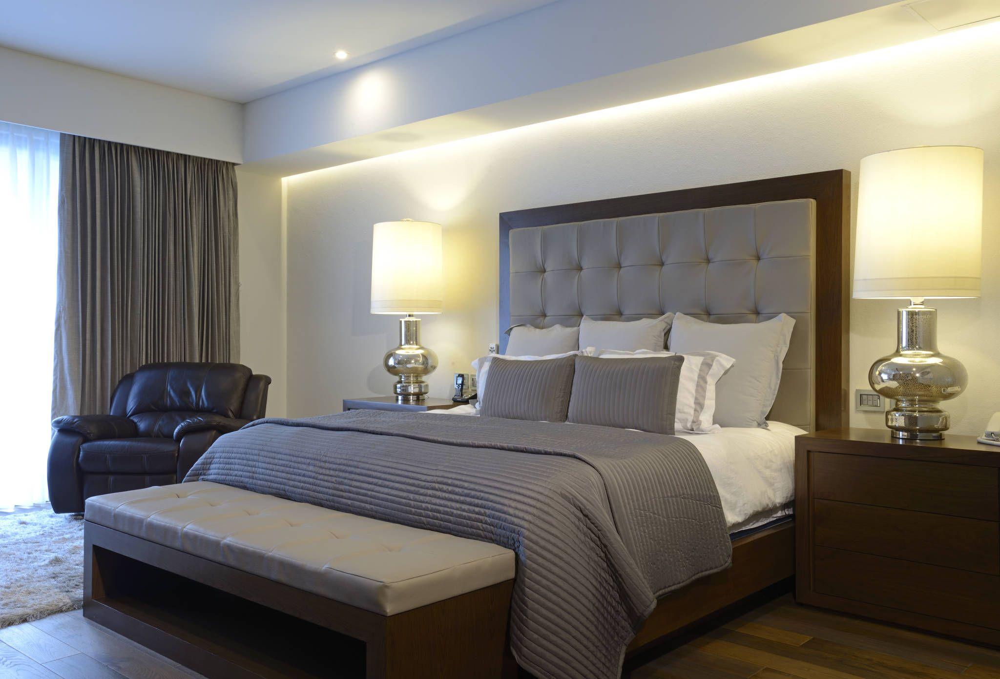 Recamara principal rec maras de estilo por victoria - Ideas decoracion dormitorios ...