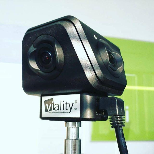 Da ist sie!  Unsere #Orah 4i  #360degree #camera #VirtualReality #livestreaming