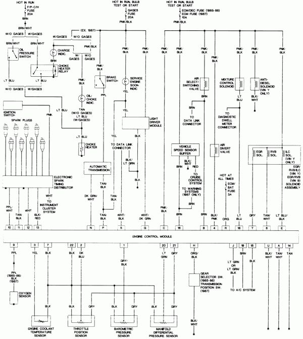 15  1998 Oldsmobile Cutlass Supreme Engine Wiring Diagram Engine Diagram