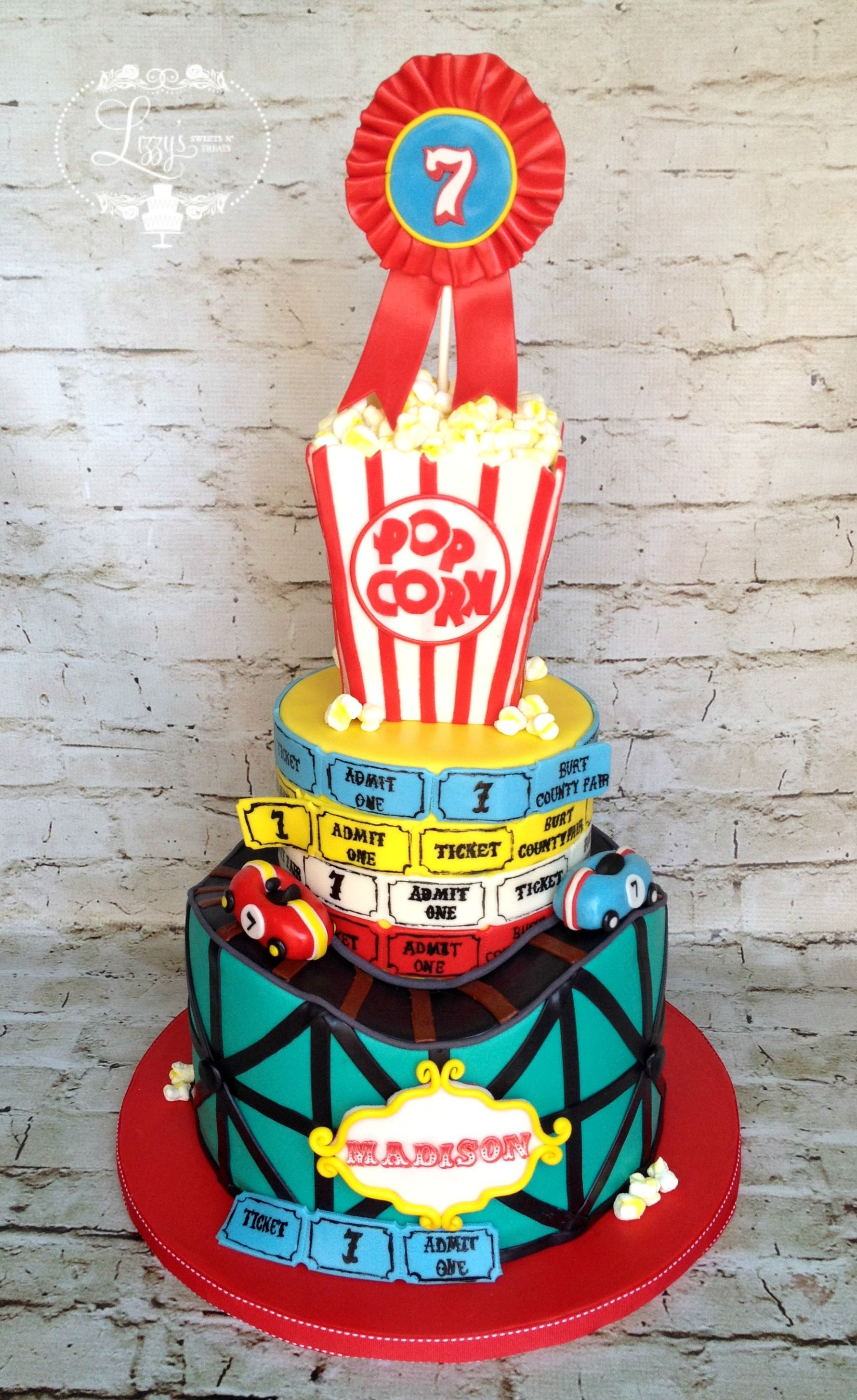 Roller coaster cake Created for Maddycakes Muse   Roller ...