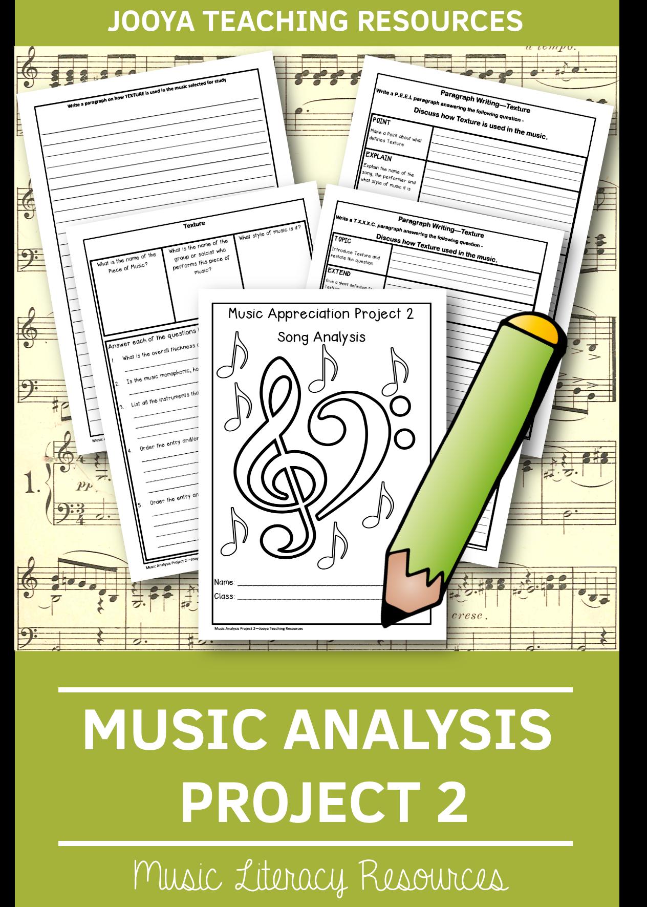 Musicysis Project 2