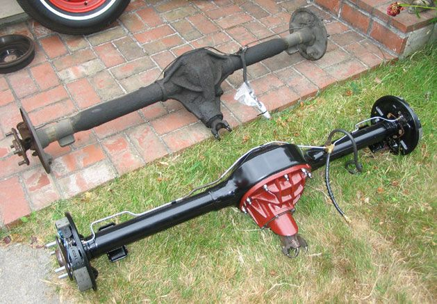 4 Lug Rear End 7 25 To 8 Swap Mustang Rear Ended Outdoor