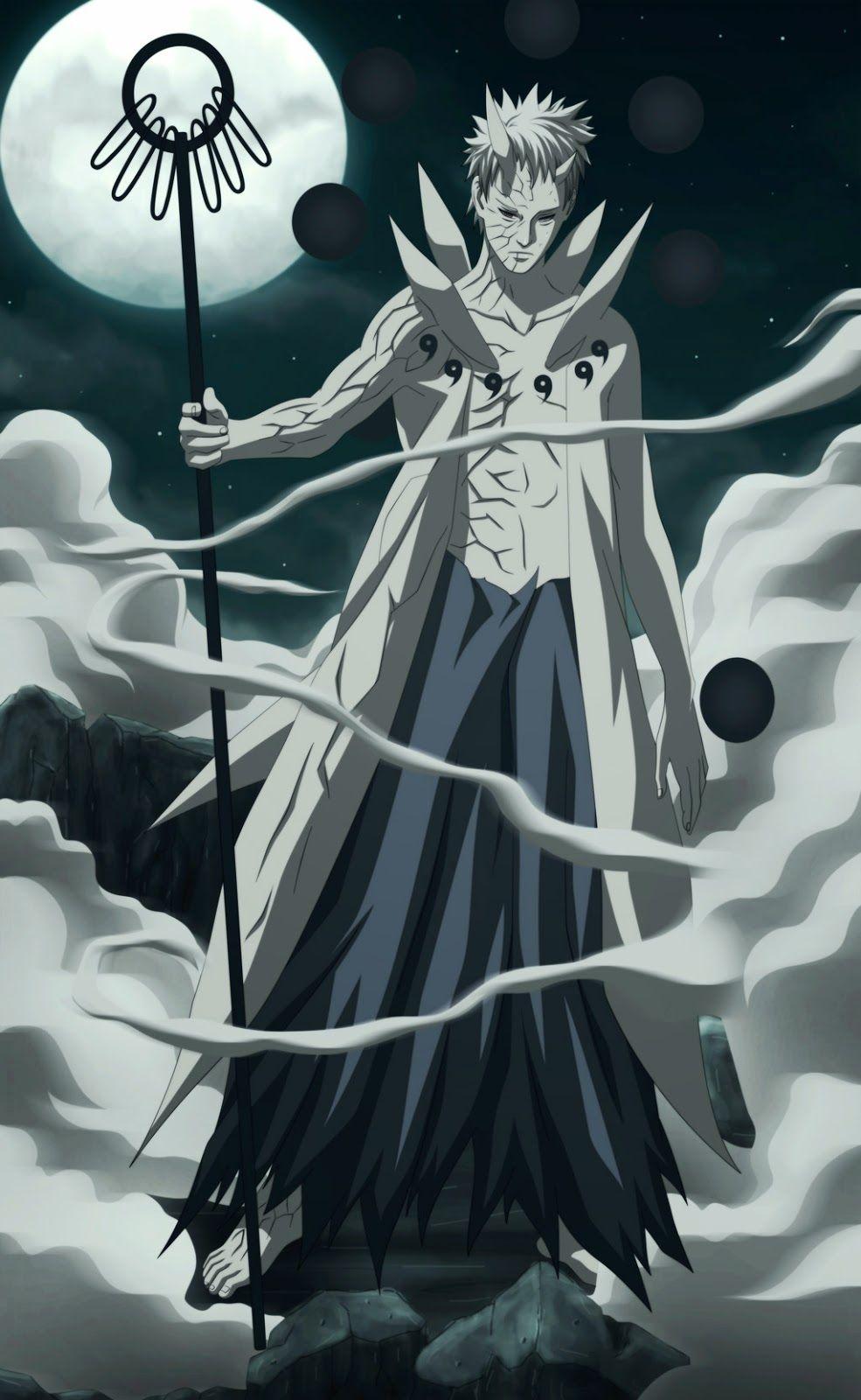 Obitom Ten Tails Jinchuriki Personagens Naruto Shippuden Personagens De Anime Anime