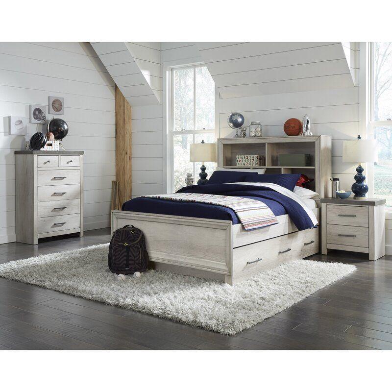 Pinar Standard Configurable Bedroom Set Twin Bedroom Sets Bedroom Set Storage Bed