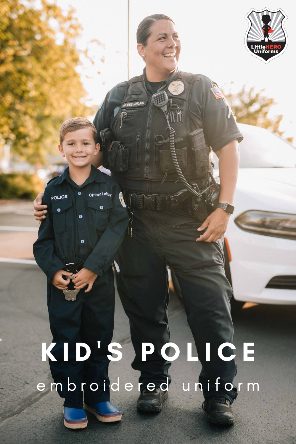 Authentic Personalized Kid S Police Costume Like The Real Uniform Police Costume Kids Kids Police Police Uniform For Kids