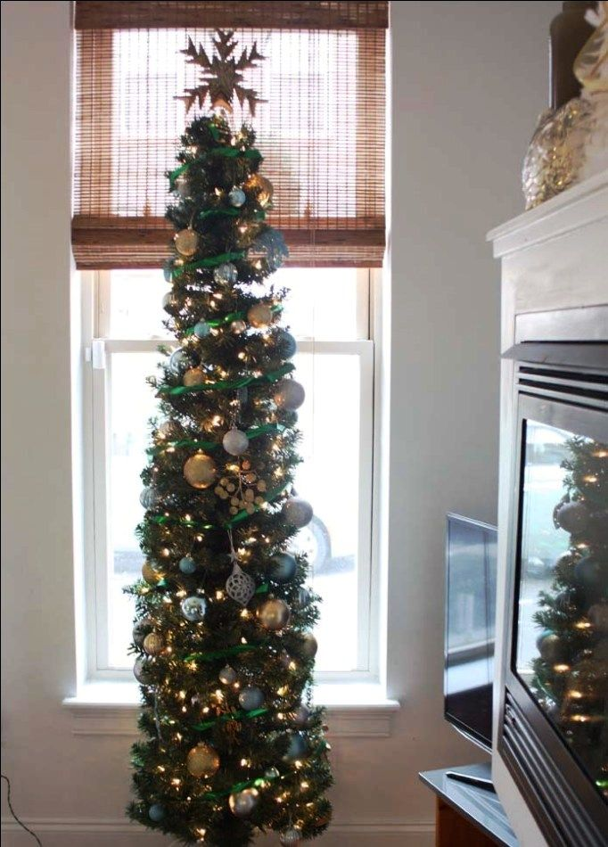 Tall Skinny Christmas Tree Decorating Ideas.12 Stuning Pencil Christmas Tree Ideas Christmas