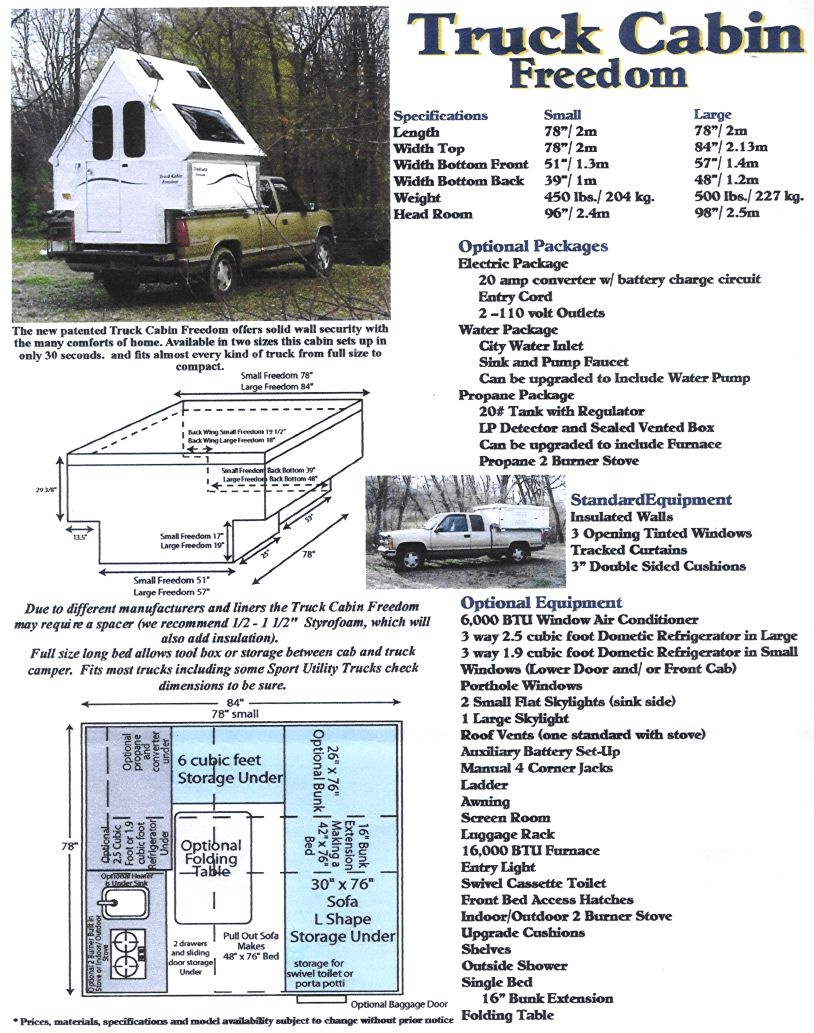 hight resolution of info regarding the a frame folding camp trailer on a pickup bed