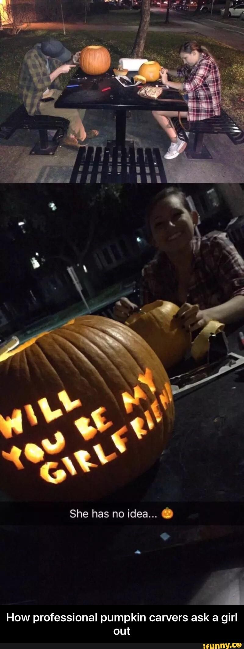 How To Ask A Girl Out With Pumpkins