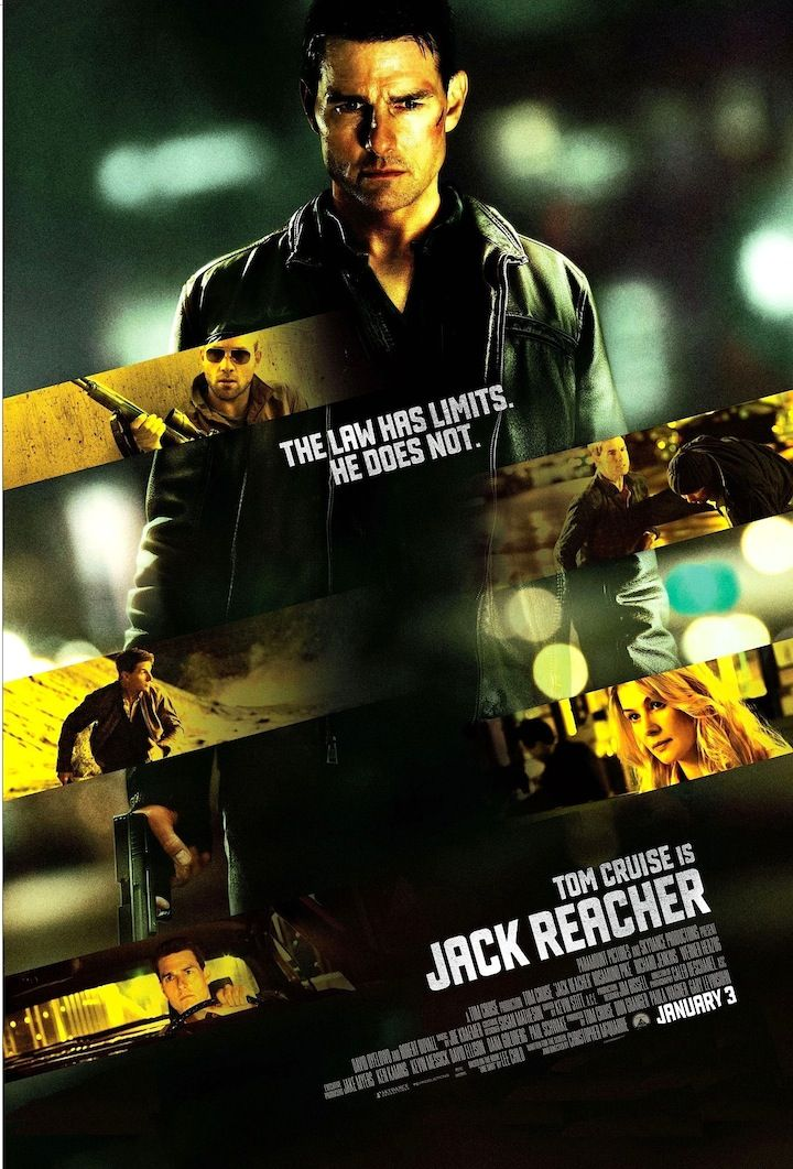 Jack Reacher Avec Images Films Cinema Cinema Posters De Films