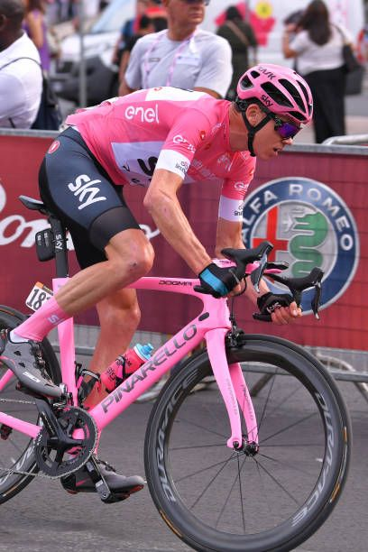 Christopher Froome of Great Britain Pink Leader Jersey   during the 101st  Tour of Italy 2018 Stage 21 a 115km stage from Rome to Rome   Giro d Italia. faba2cda5