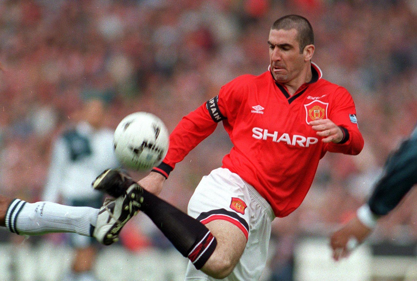 Man utd sign eric cantona. Eric Cantona during the 1996 FA Cup final   Manchester ...