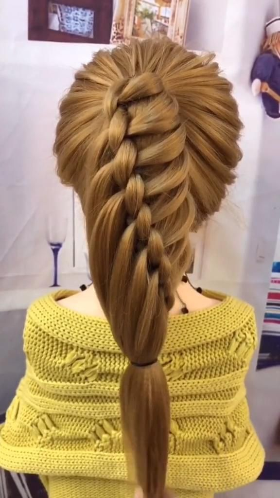 Very, very simple hairstyle, one minute can learn Personal Shawl Hair Style women -   24 hairstyles Videos women ideas