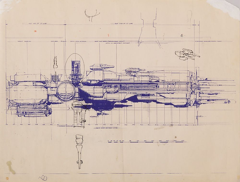 Aliens production blueprints of the sulaco with hand annotations aliens production blueprints of the sulaco with hand annotations malvernweather Gallery