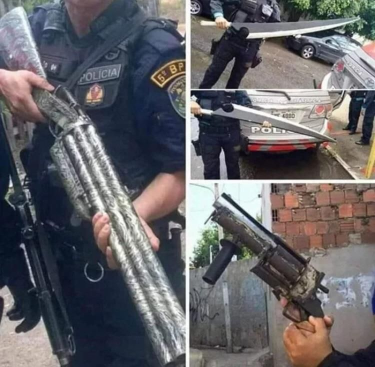Some Anime Cartel Fight Happened In Brazil Cartel Cops Humor Memes