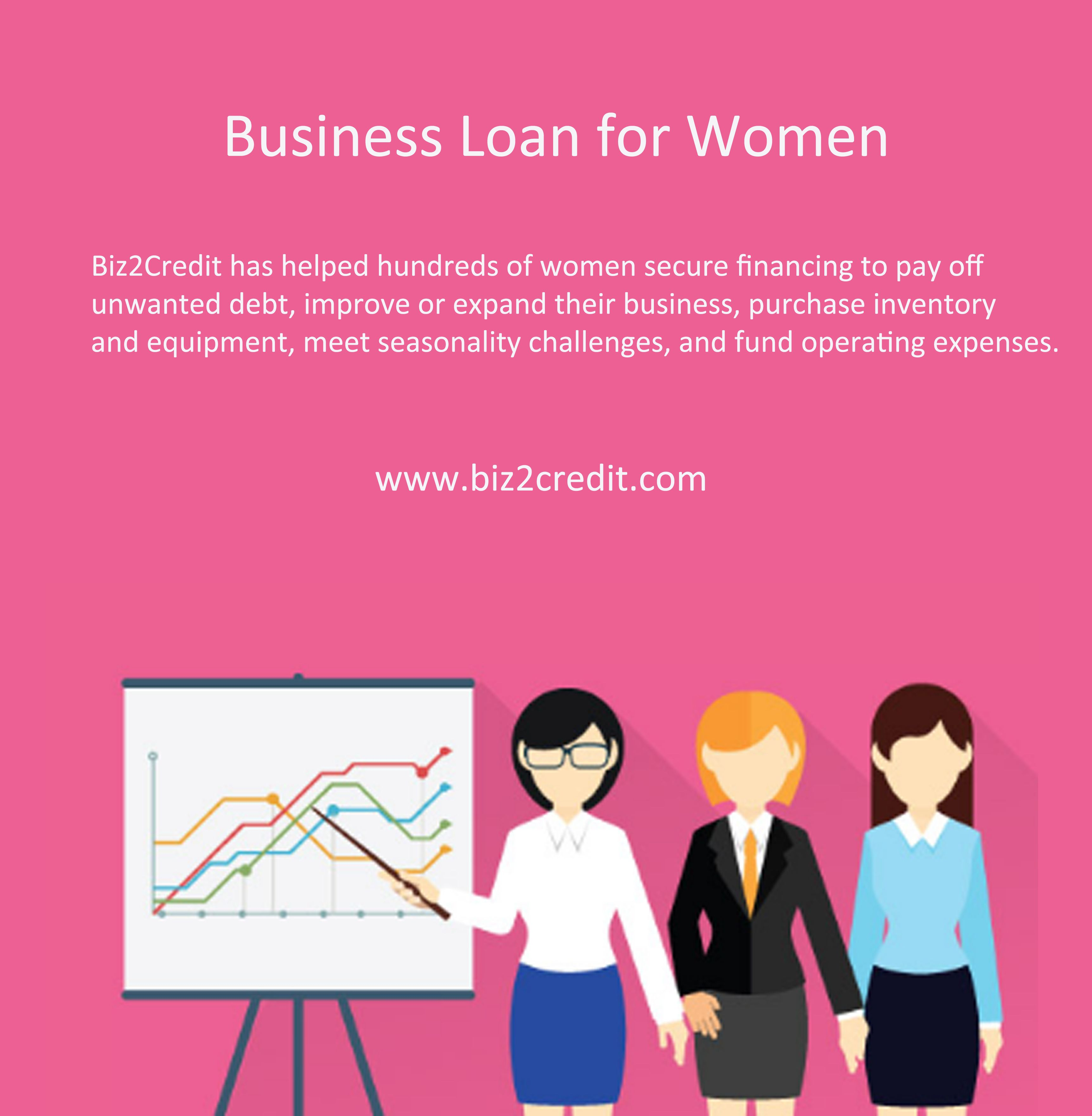 Business Loans For Women Https Www Biz2credit Com Business Loan Business Loans For Women Business Loans Small Business Finance Small Business Loans