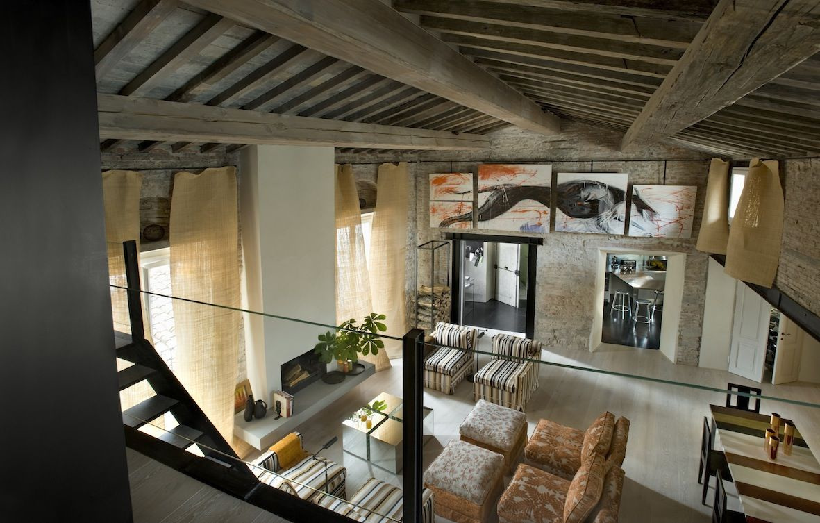 Living Room At Signoria Palazzo Apartment, Florence