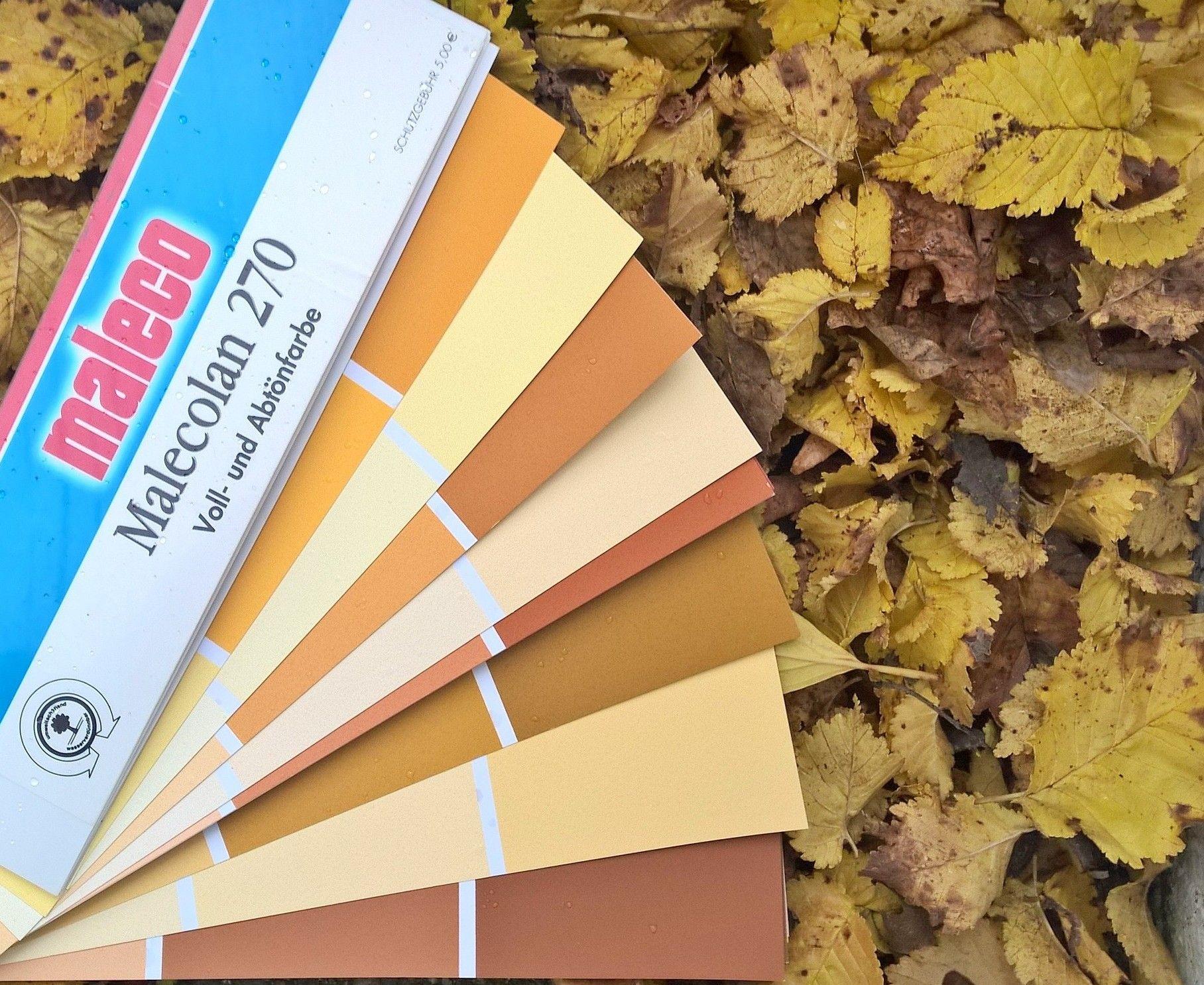 Herbst Farben Farben