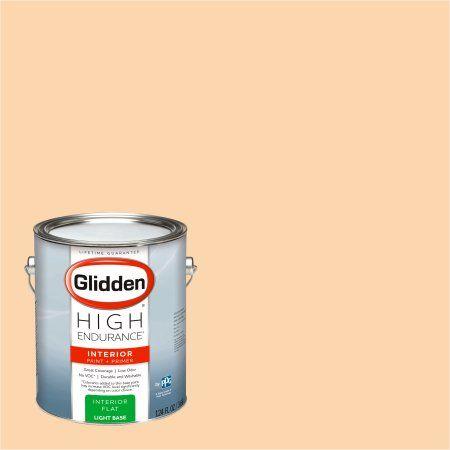 Glidden High Endurance, Interior Paint and Primer, Orange Blossom
