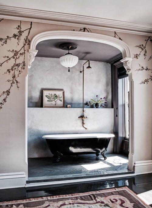 Imagem de bathroom, interior, and design