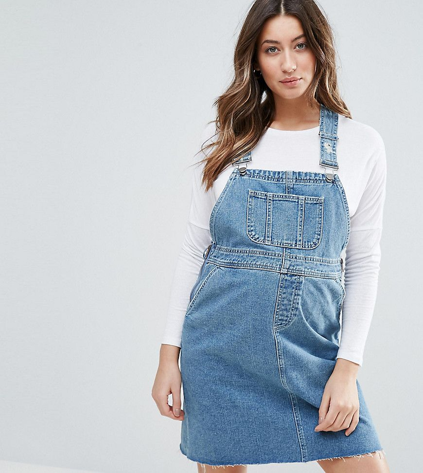 Get this asos maternitys cowboy dress now click for more details asos maternity denim dungaree dress in midwash blue blue dungarees by asos maternity blue wash denim classic pinafore design ombrellifo Image collections