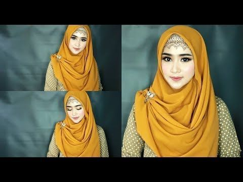 Tutorial Hijab Pashmina Acara Resmi Cara Lif Co Id
