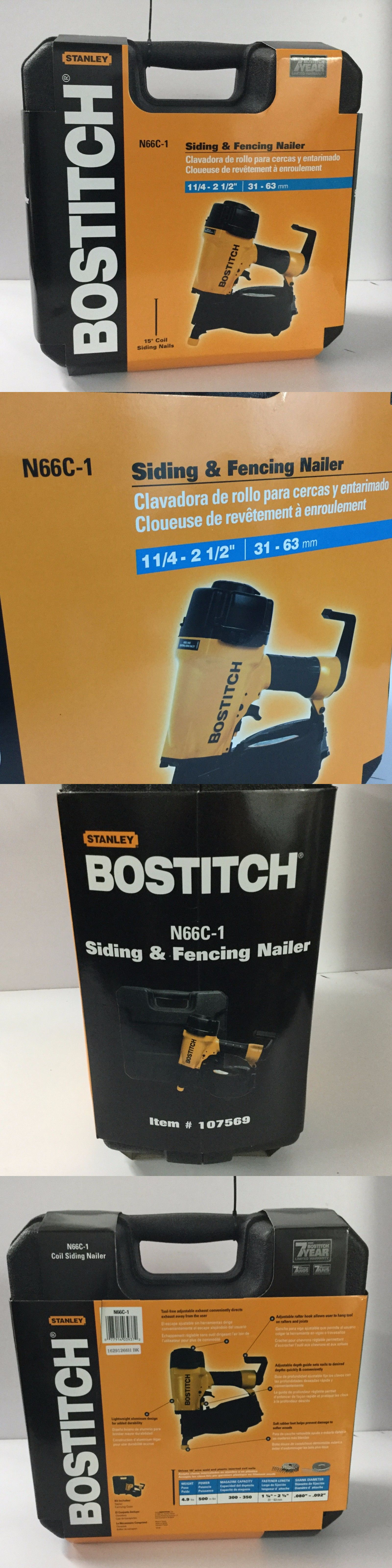 Other Nailers 22661: Bostitch 1-1 4 To 2-1 2 15 Deg. Coil Siding ...