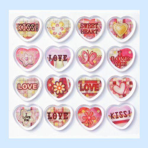 HOBBY-Design Sticker Herzen I