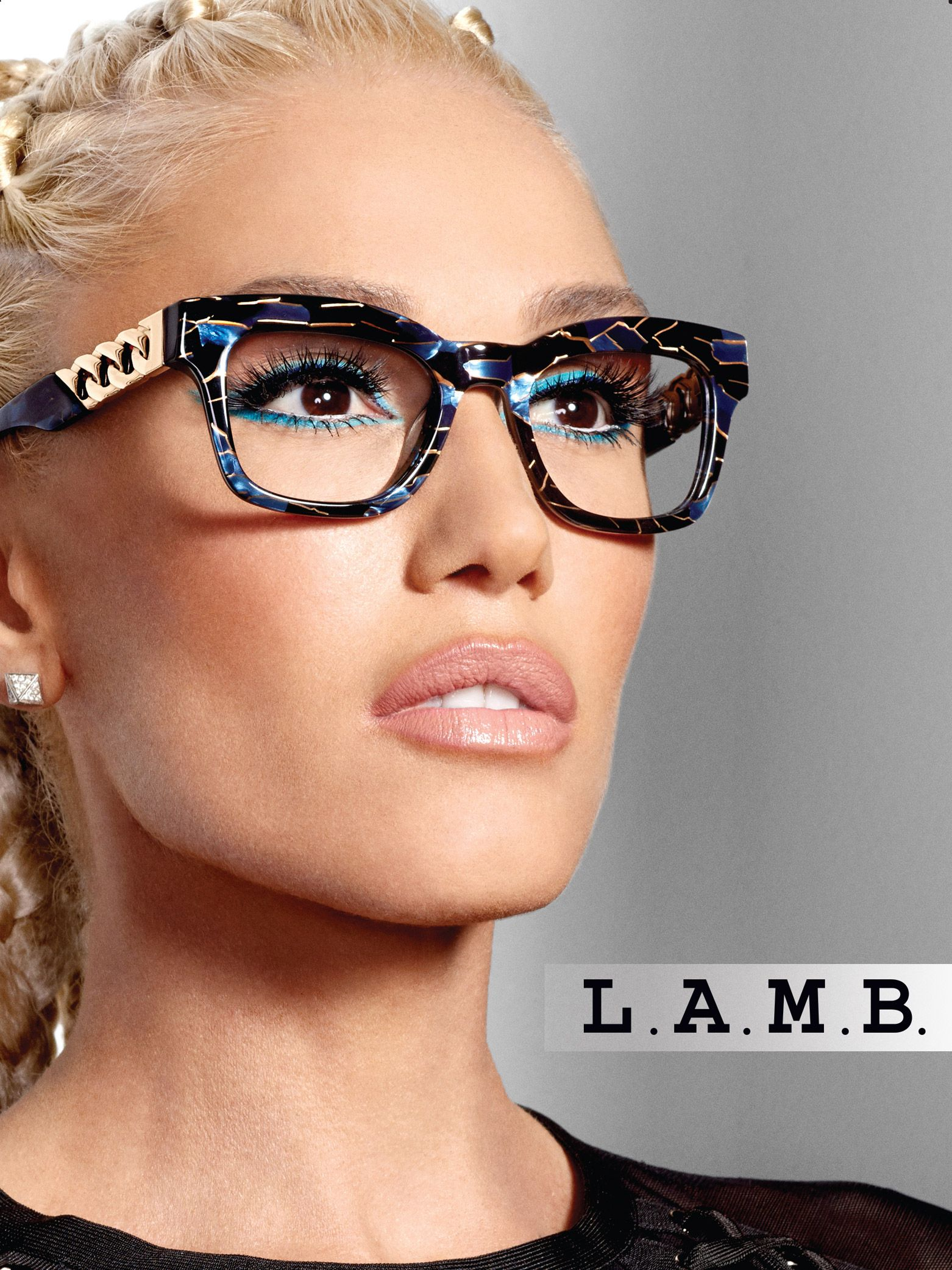a4b3ed7252 Gwen Stefani s Glasses-Wearing Son Zuma Inspired Her New Eyewear  Collection   He s So Proud!