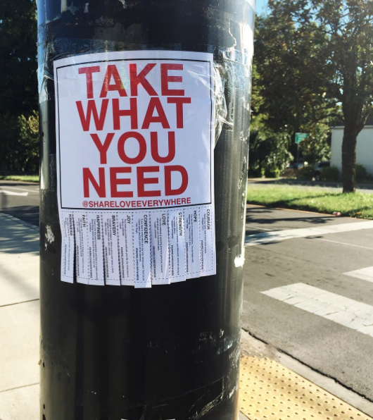 Take What You Need Flyer
