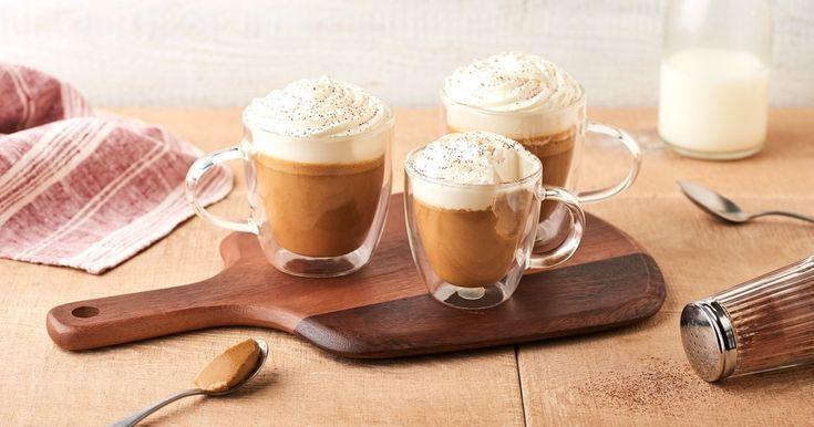 Panna cotta cappuccino - Retrouvez cette savoureuse recette sur lidl- -