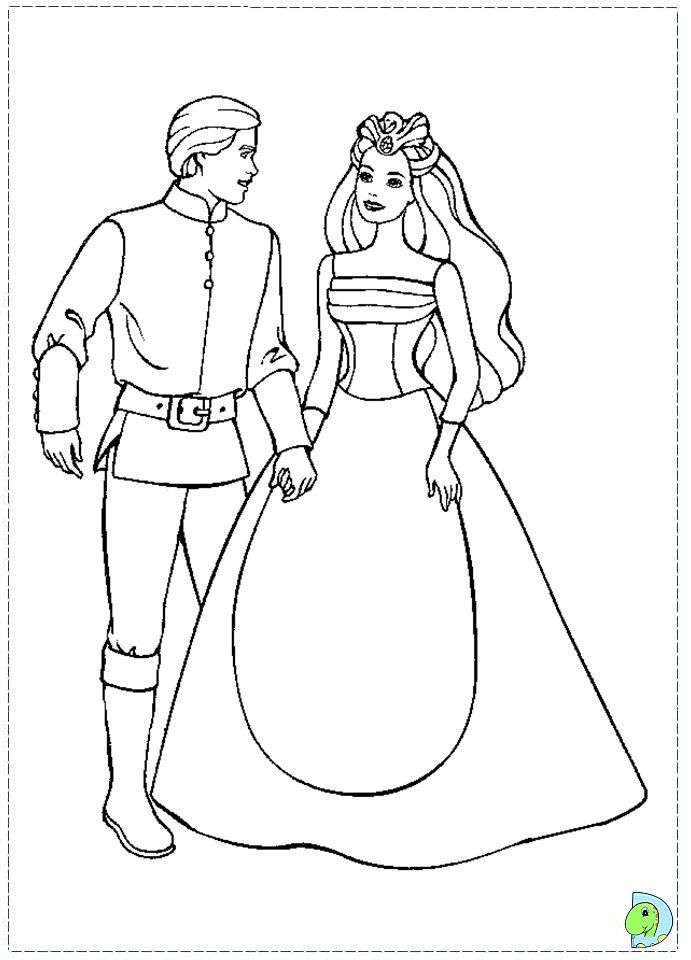 Free Barbie Of Swan Lake Movie Kids Coloring Pages Printable Marriage