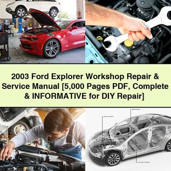 2003 Ford Explorer Workshop Repair Service Manual 5 000 Pages Pdf Complete Informative For Diy Repair Downloa Repair Manuals Ford Expedition Ford Fusion