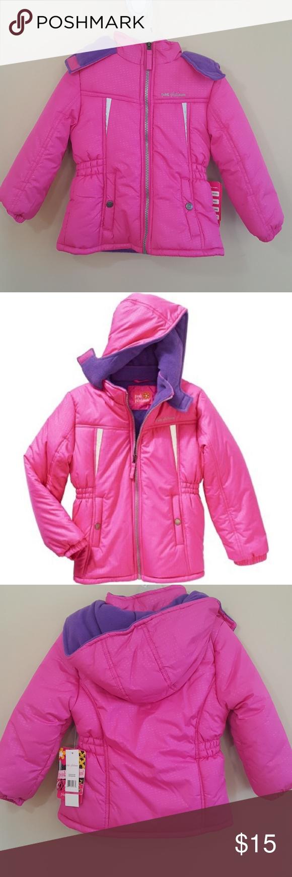 Pink Platinum Fleece Lined Puffer Jacket Fashion Clothes Design Fashion Design [ 1740 x 580 Pixel ]