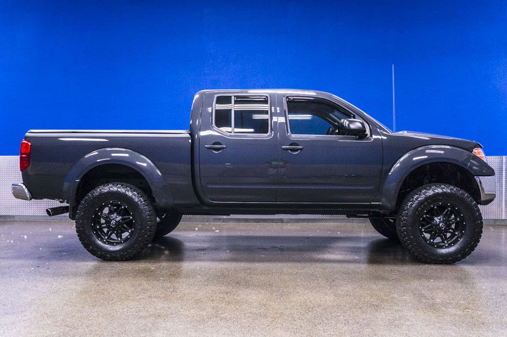 Bad Boy lifted Gray 2010 Nissan Frontier 4x4 Crew Cab
