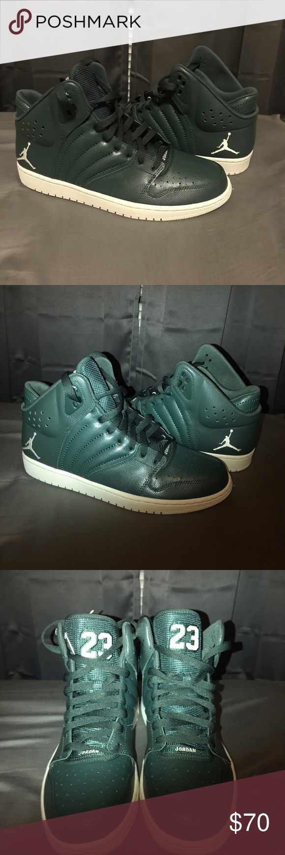 6bdfd697afe MENS NIKE AIR JORDAN 1 FLIGHT 4 TRAINING LIFESTYLE MENS NIKE AIR JORDAN 1  FLIGHT 4 TRAINING LIFESTYLE SNEAKERS SHOES GREEN WHITE 10.