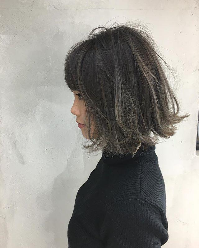 グレージュボブ Album Hair ヘアスタイル ショートヘア ボブ