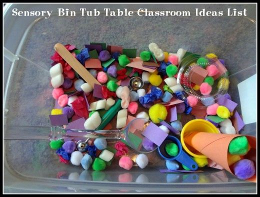 Sensory bins enable preschool and kindergarten age children to develop cognitive, linguistic, social, emotional, and physical skills. Why couldn't it have been this much fun when we were kids?!?