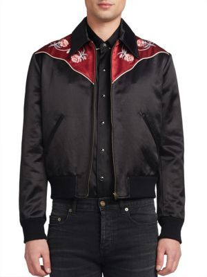 d70954809 SAINT LAURENT Western Bomber Jacket. #saintlaurent #cloth #jacket ...