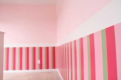 30 Fotos E Ideas Para Decorar Y Pintar Las Paredes A Rayas - Pintar-paredes-a-rayas-verticales