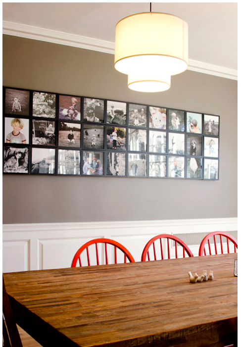 picture wall with lp frames innovative storage solutions pinterest colori vernici pareti foto e pareti immagine