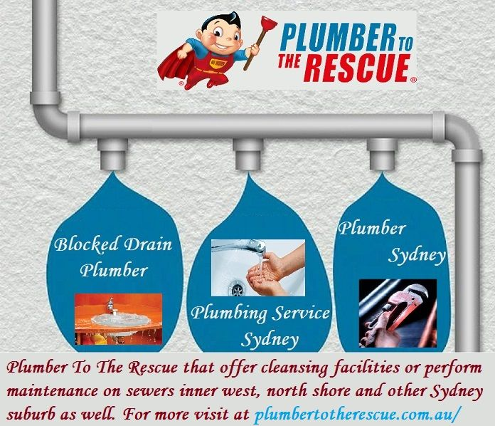 Plumber to the Rescue offer fast and dependable emergency plumbing services in Sydney area to get your drains flowing freely 24/7. Schedule service with a PTTR today!