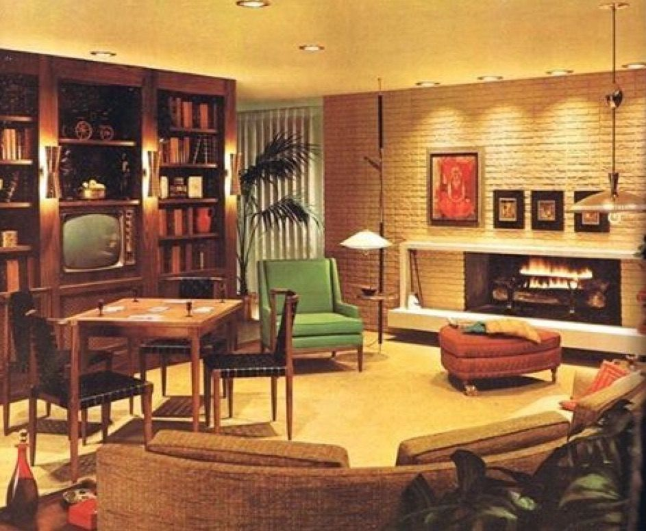 Mid Century Family Room Mid Century Modern Living Room Decor