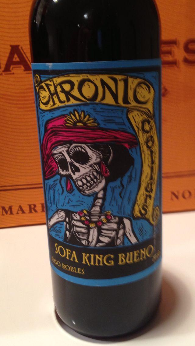 Cronic Cellars Paso Robles Sofa King Bueno Is Indeed Sofa King